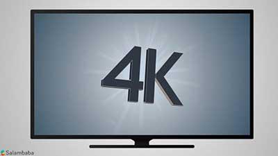 شکل1 تلويزيون 4K