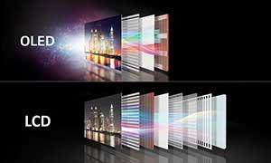 شکل1-  تلویزیون OLED اولد چیست