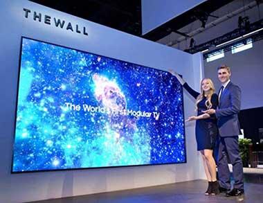 تلویزیون غولپیکر The Wall