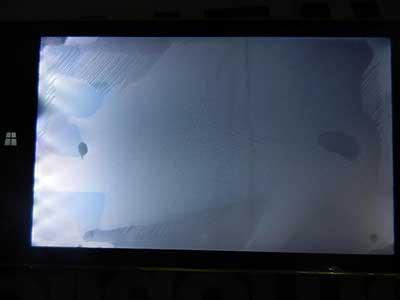 آبخوردگی صفحه تلویزیون