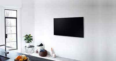 شکل1 -نکاتی برای نصب تلویزیون روی دیوار